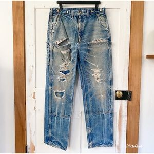 Carhartt Double Front Knee destroyed jeans 38x34